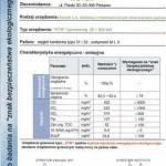 Świadectwo badania na znak bezpieczeństwa ekologicznego dla kotła KTM