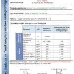 Świadectwo badania na znak bezpieczeństwa ekologicznego dla kotła EKR